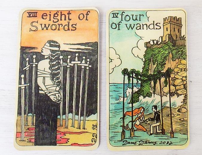 Blog 8 swords 4 wands