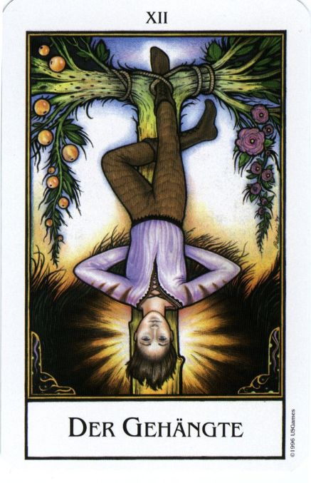 The Hanged Man in love: What to do when it's best to do