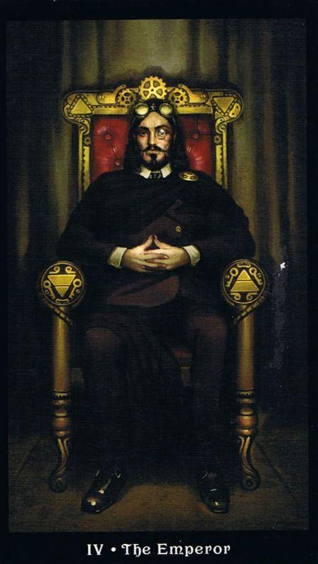 Emperor Steampunk Tarot